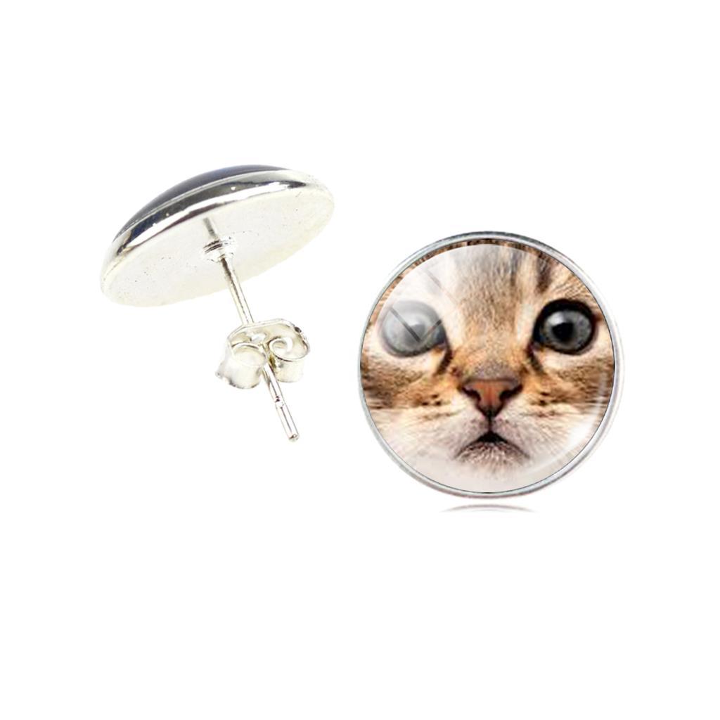 beste authentiek Goede prijzen baby Katten Oorbellen - Katie